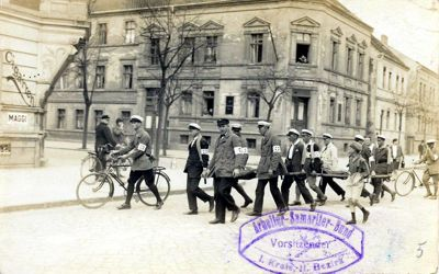 05. Mai 1929 Bezirksübung in Rathenow